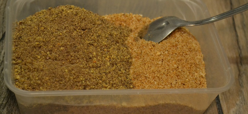 Прикормка из сухарей