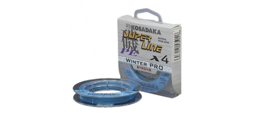 Kosadaka Super Line PE X4 Winter Pro.