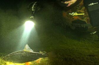 Фонарь для подводной рыбалки