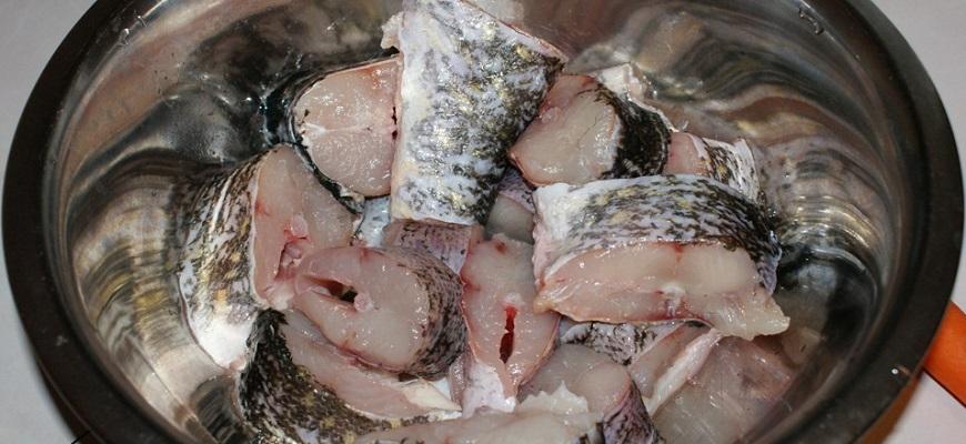 Куски рыбы