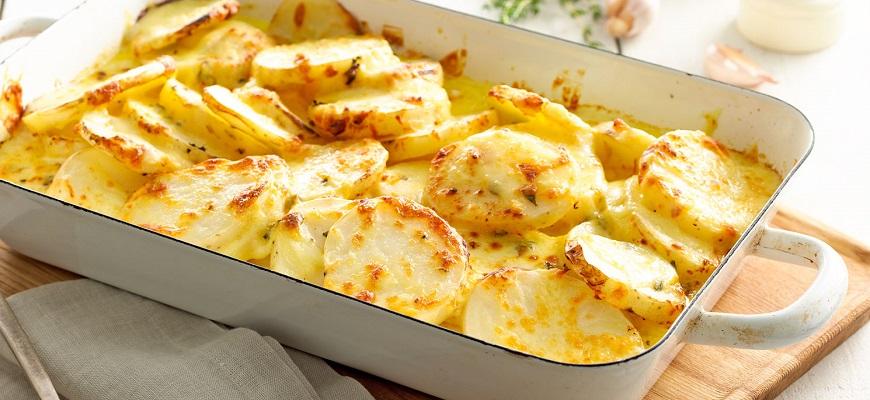 Запечь картофель