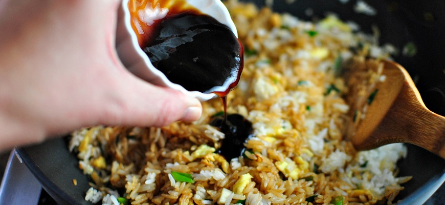 Рис с маринадом